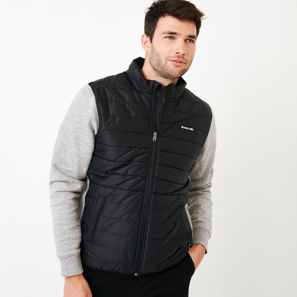 Roots-New For July Daily Offer-Roots Hybrid Jacket-Black-A