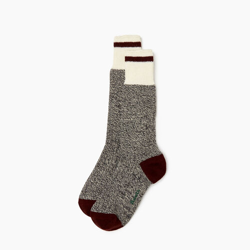 Roots-Women Socks-Womens Roots Pop Cabin Sock 3 Pack-Crimson-A