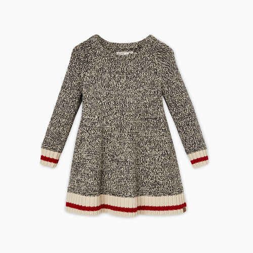 Roots-Kids Toddler Girls-Toddler Cabin Sweater Dress-Grey Oat Mix-A