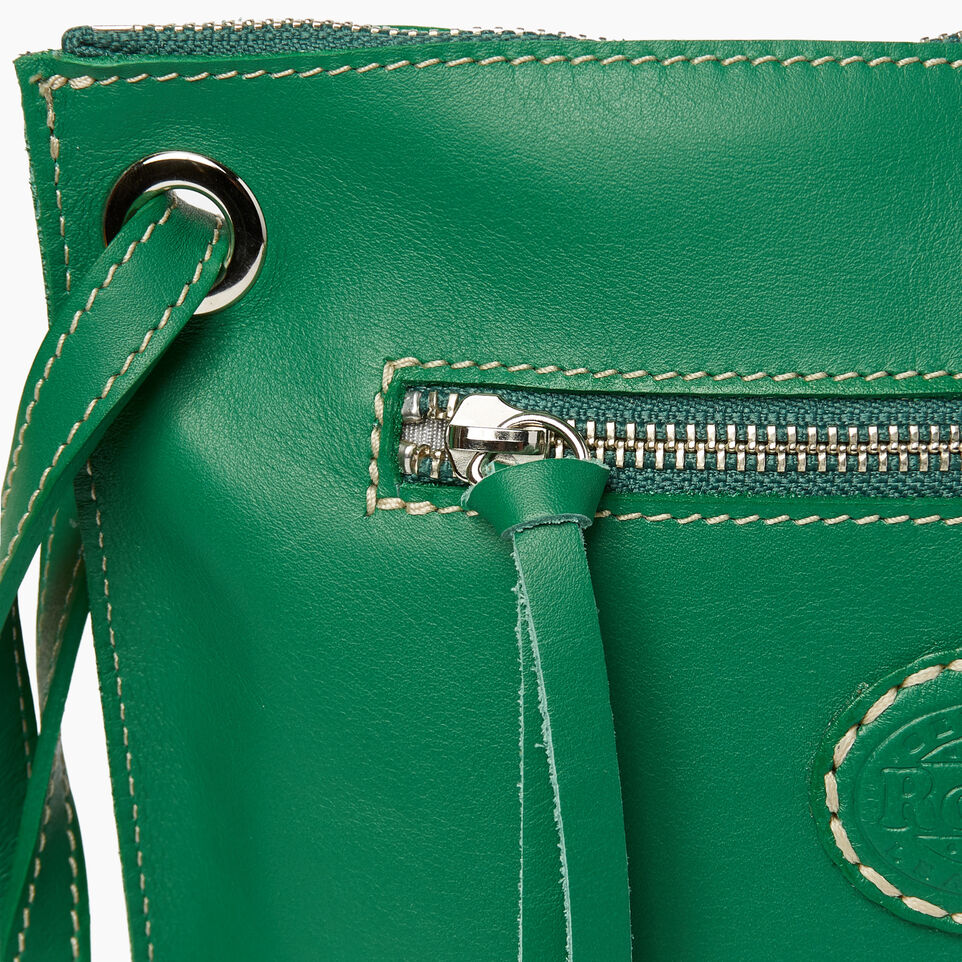 Roots-Leather  Handcrafted By Us Categories-Festival Bag-Emerald-E
