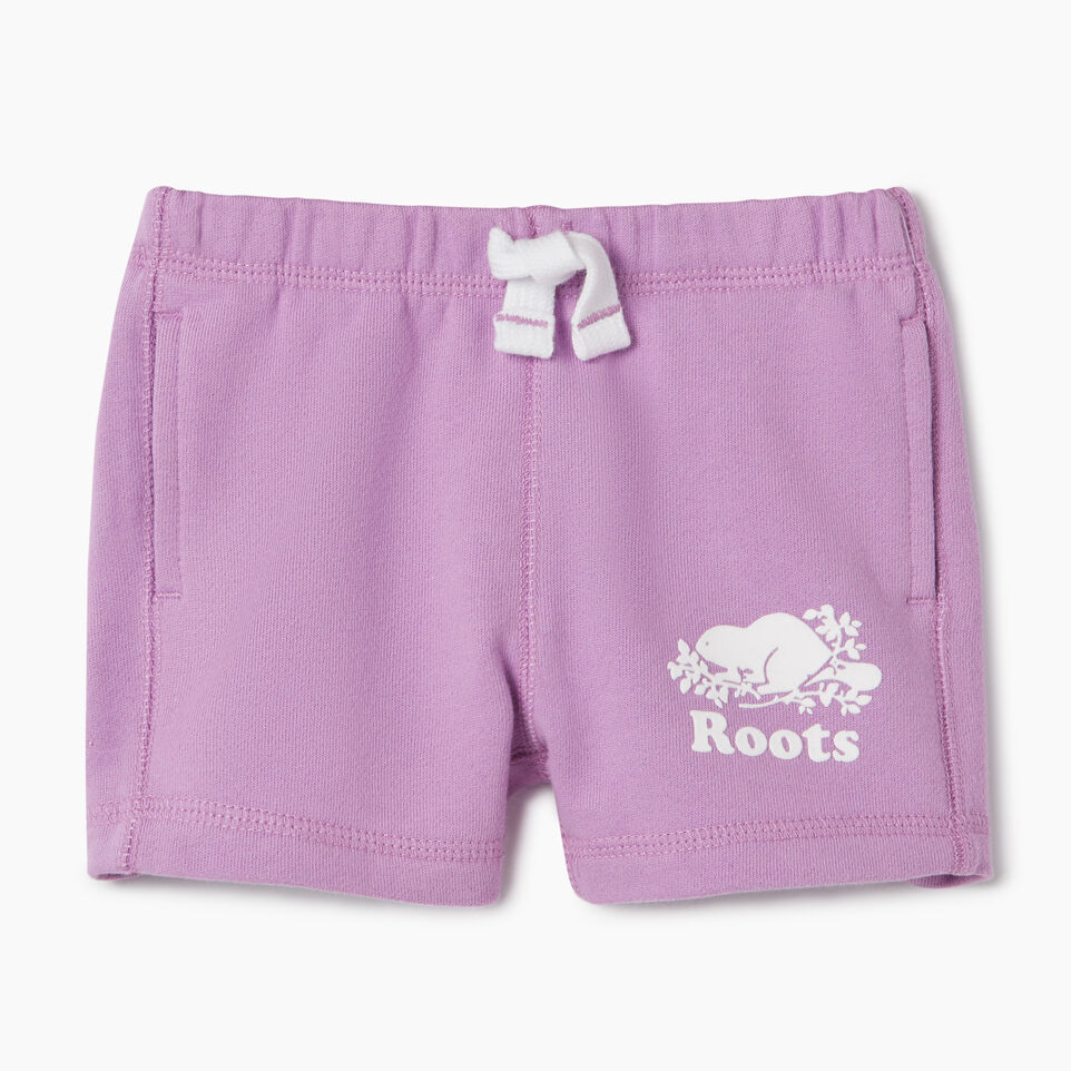 Roots-Kids New Arrivals-Baby Original Roots Short-African Violet-A
