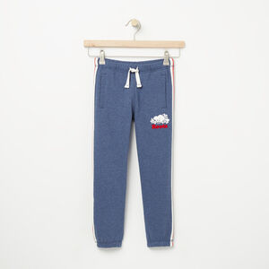 Roots-Kids Sweats-Boys National Slim Sweatpant-Cascade Blue Mix-A