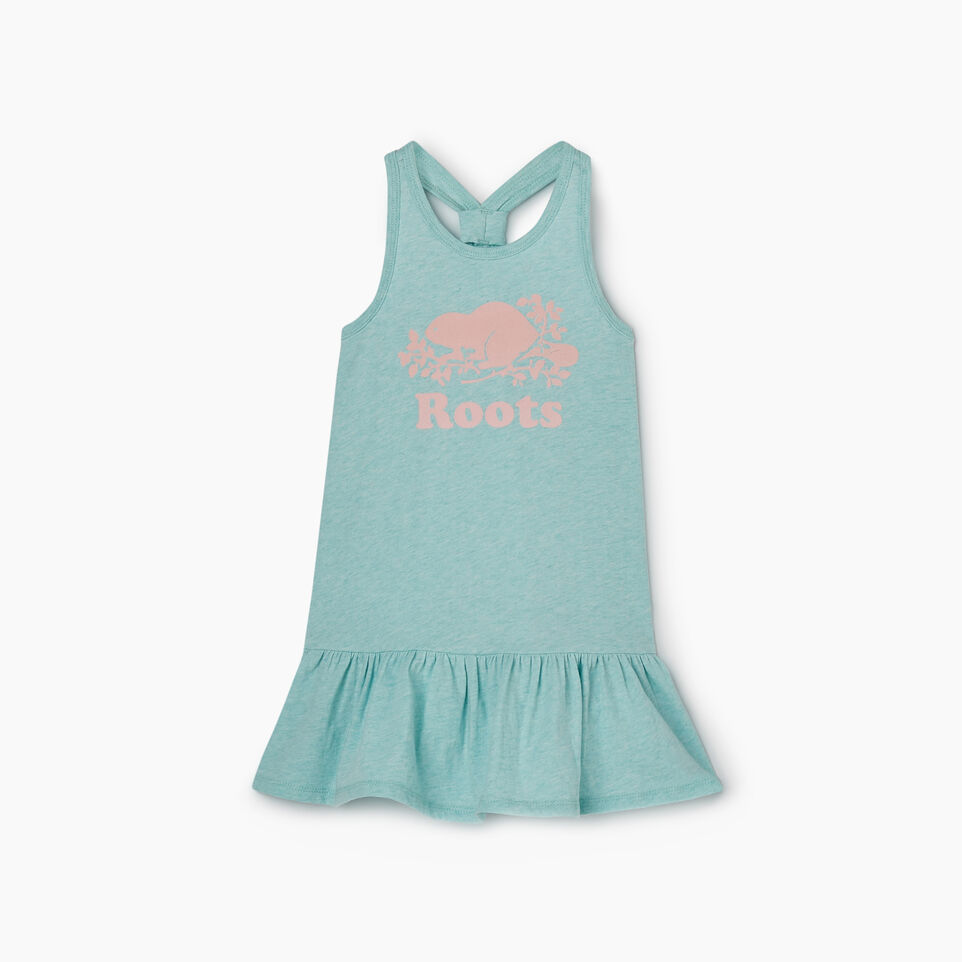 Roots-Kids New Arrivals-Toddler Knot Swing Dress-Bleached Aqua Mix-A