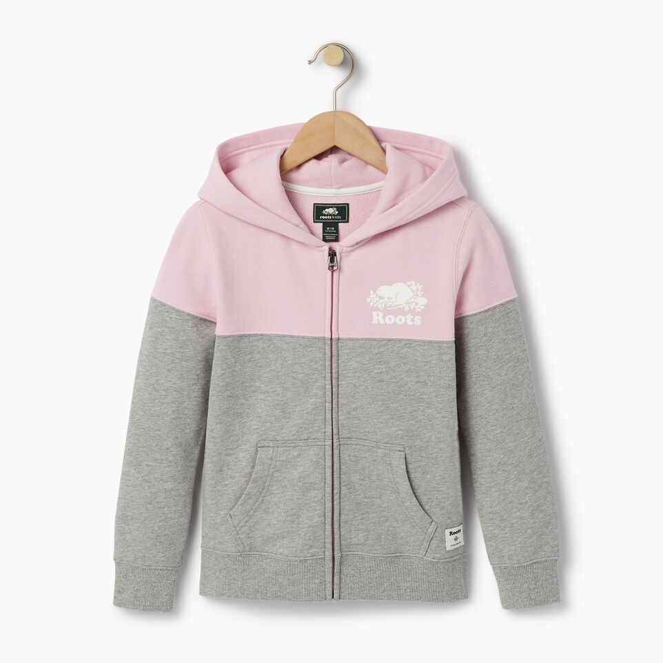 Roots-undefined-Girls Colour Block Full Zip Hoody-undefined-A