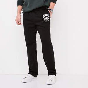 Roots-Sale Men-Classic Open Bottom Sweatpant-Black-A