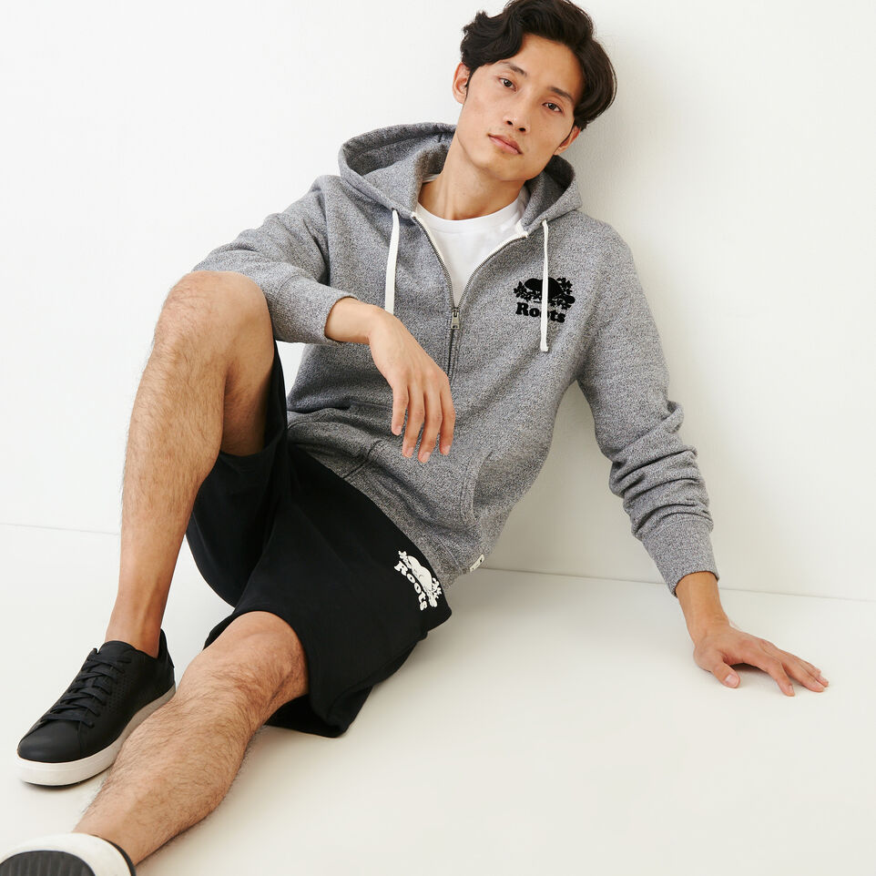 Roots-undefined-Roots Salt and Pepper Original Full Zip Hoody-undefined-B
