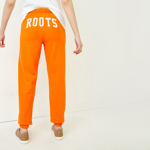 Roots-Women Sweatpants-Original Boyfriend Sweatpant-Orangeade-A
