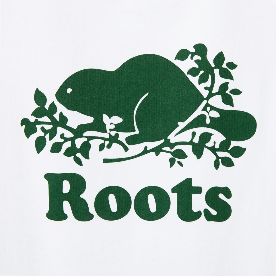 Roots-undefined-Cooper Beaver T-shirt Park green-undefined-C