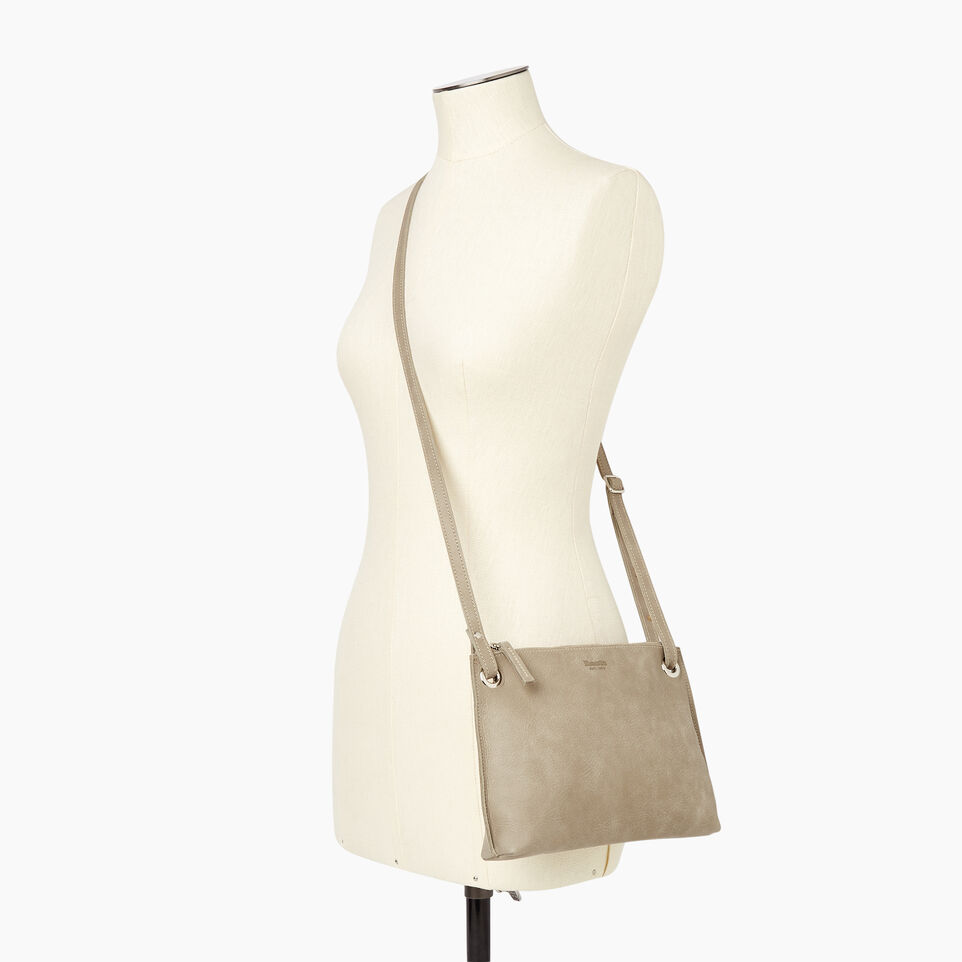 Roots-Leather Tribe Leather-Edie Bag-Mint-B