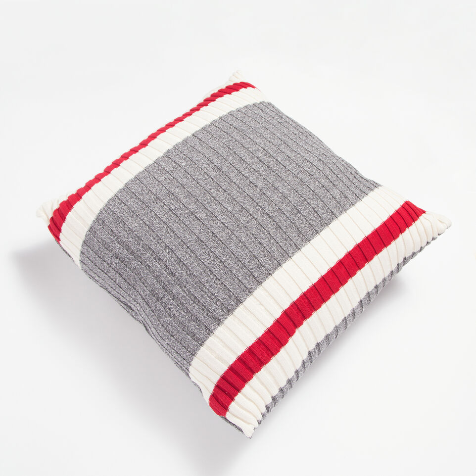 Roots-undefined-Tweed 26 X 26 Floor Pillow-undefined-A