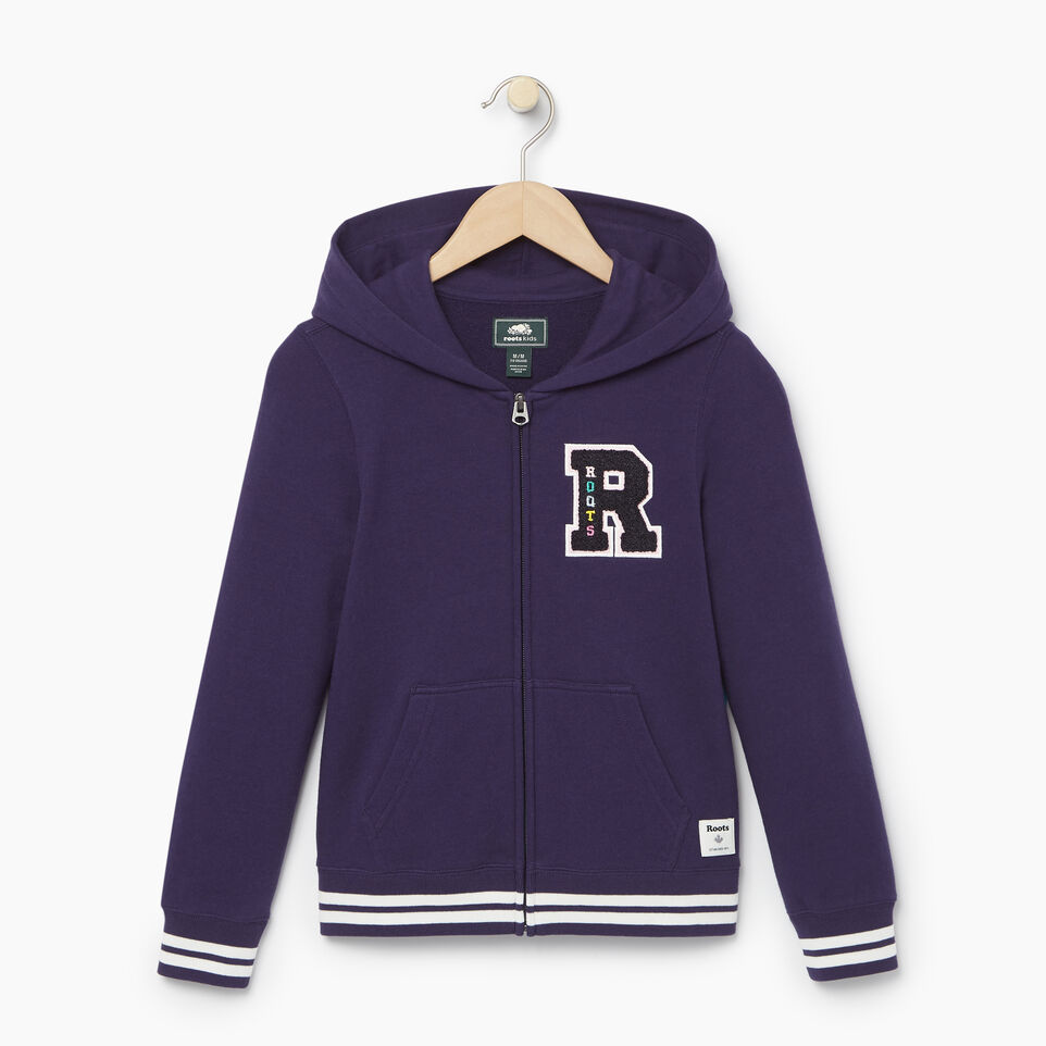 Roots-undefined-Girls Alumni Full Zip Hoody-undefined-A