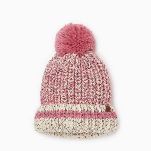 Roots-Kids Girls-Kids Chunky Cabin Toque-Pink Mix-A