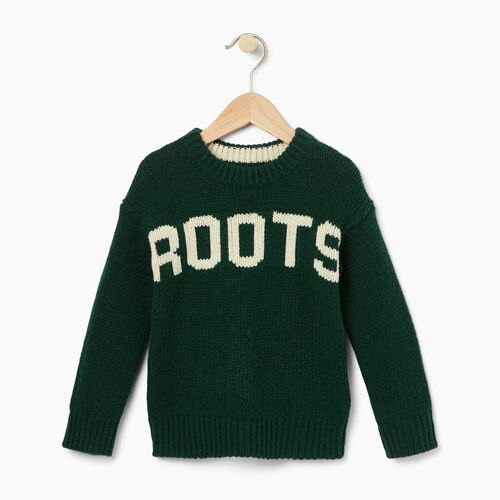 Roots-Kids Toddler Boys-Toddler Vault Crew Sweater-Park Green-A