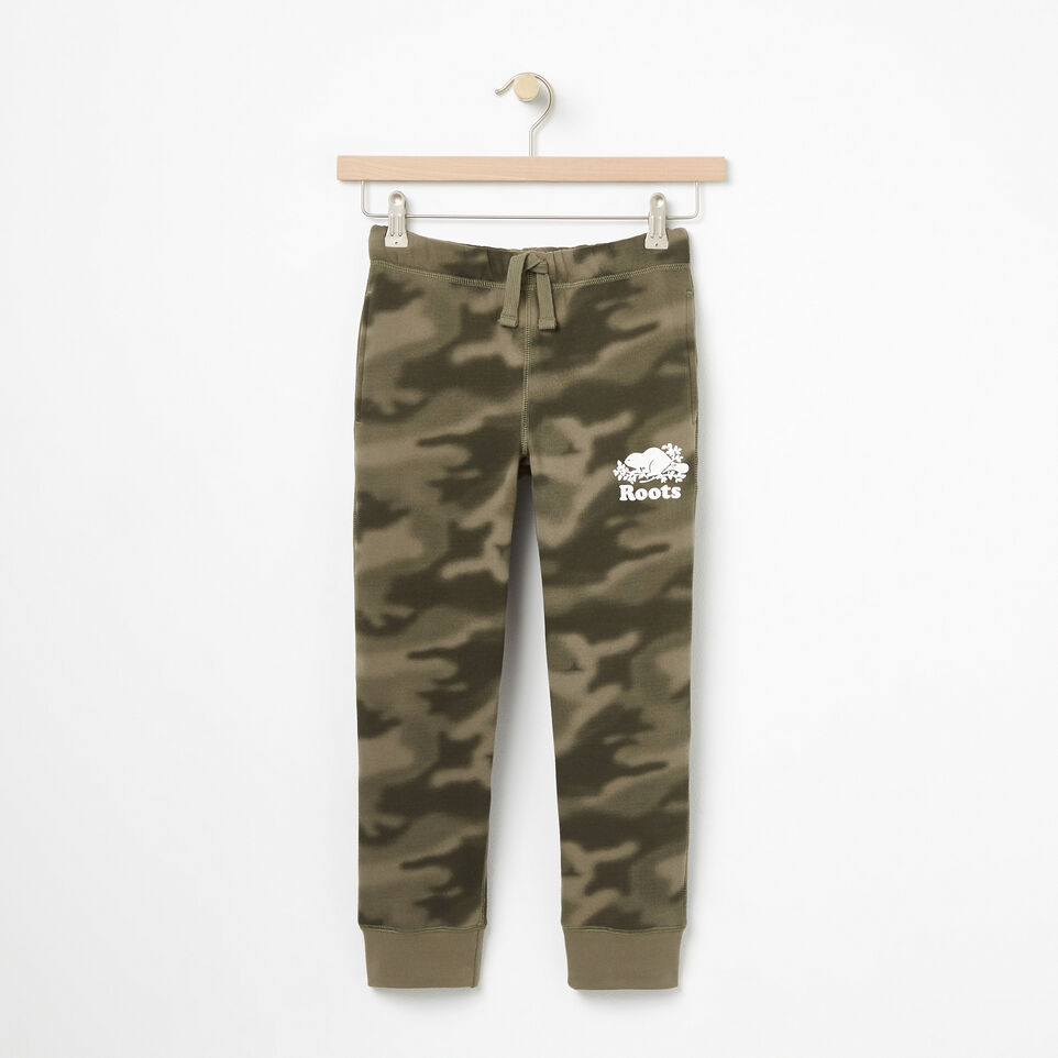 Roots-undefined-Boys Blurred Camo Slim Sweatpant-undefined-A