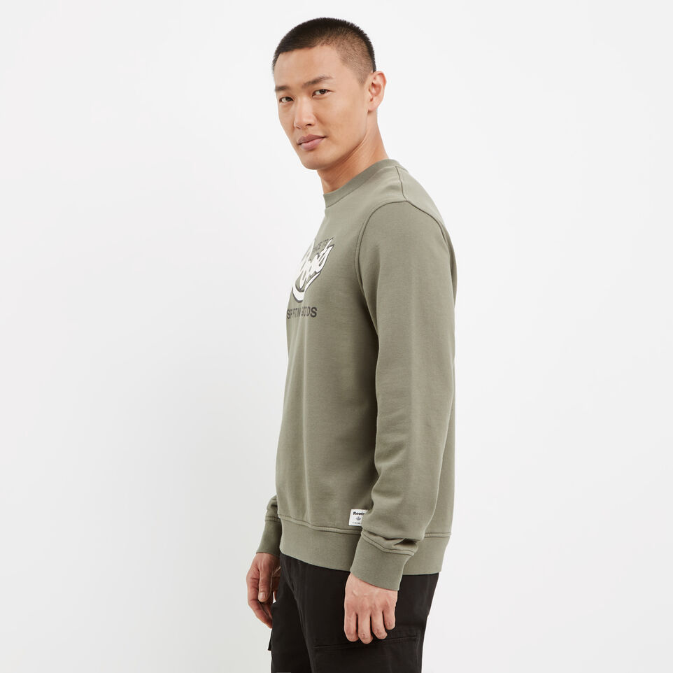Roots-undefined-Roots Sporting Goods Crew Sweatshirt-undefined-B
