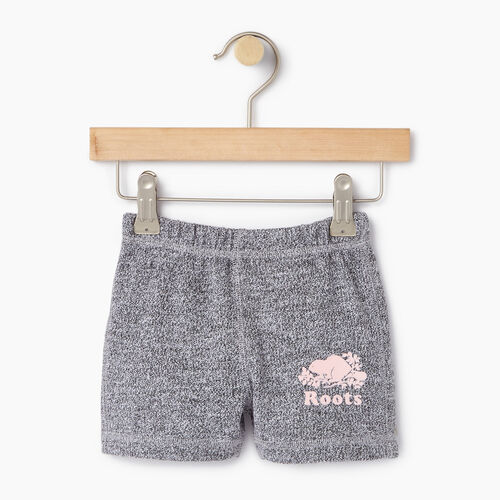 Roots-Kids Our Favourite New Arrivals-Baby Original Roots Short-Salt & Pepper-A