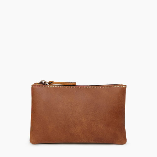 Roots-Leather Our Favourite New Arrivals-Medium Zip Pouch-Natural-A