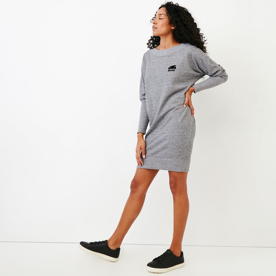 Roots-undefined-Roots Salt and Pepper Dress-undefined-C
