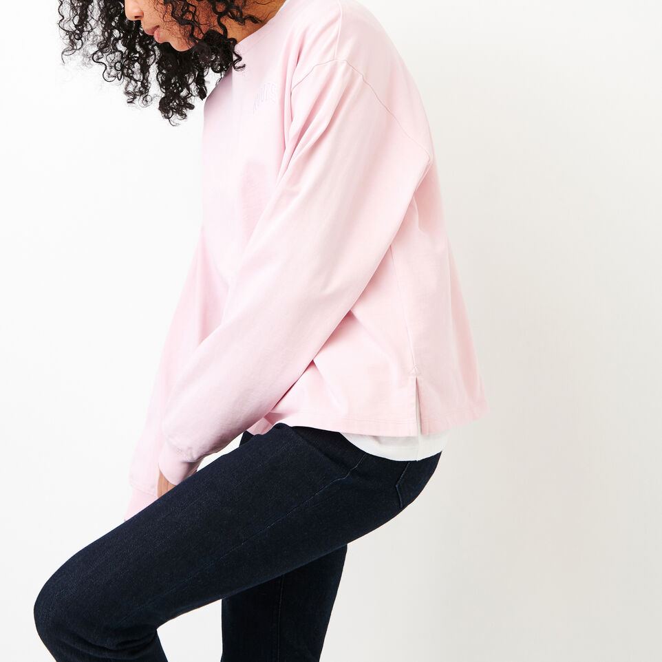 Roots-Women Our Favourite New Arrivals-Brookley Top-Pink Mist-C