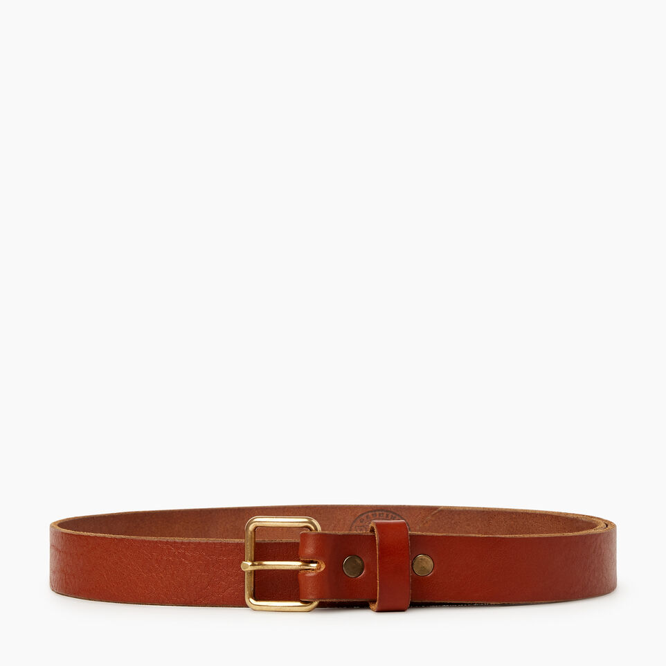 Roots-Women Categories-Roots Unisex Belt-Cognac-A