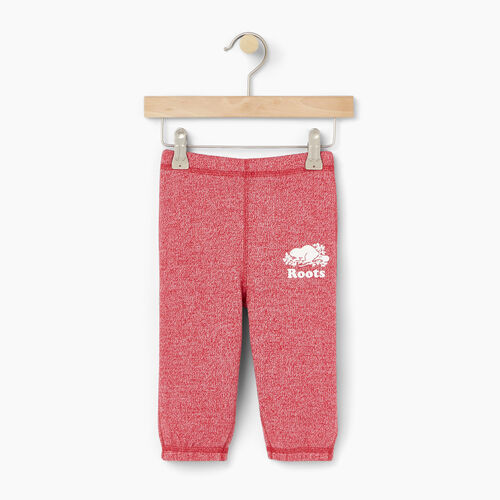 Roots-Kids Baby-Baby Original Roots Sweatpant-Cabin Red Pepper-A