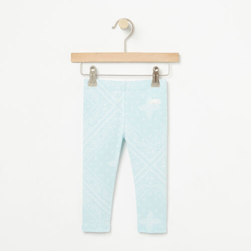 Roots-Kids Bottoms-Baby Bandana Legging-Chambray Blue-A