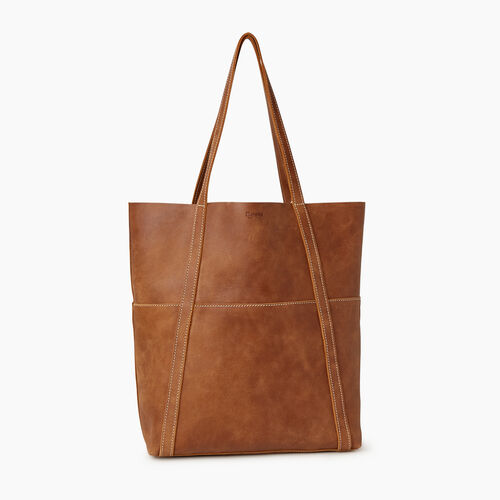Roots-Leather  Handcrafted By Us Our Favourite New Arrivals-Westboro Tote-Natural-A