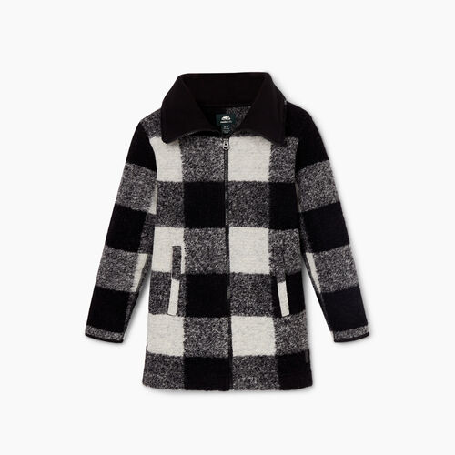 Roots-Kids Jackets-Girls Seymour Jacket-Black-A