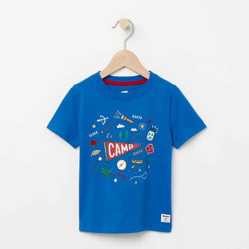 Roots-Kids Toddler Boys-Toddler Camp Canada T-shirt-Olympus Blue-A