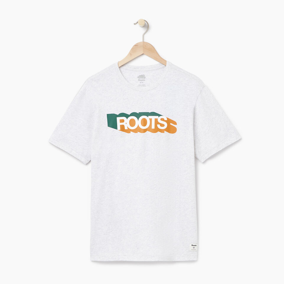 Roots-undefined-Mens Roots Colours T-shirt-undefined-A