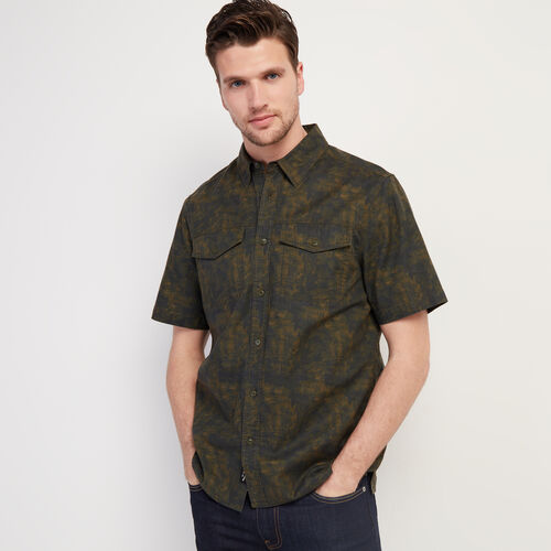 Roots-Sale Tops-Heatley Short Sleeve Shirt-Camo Print-A