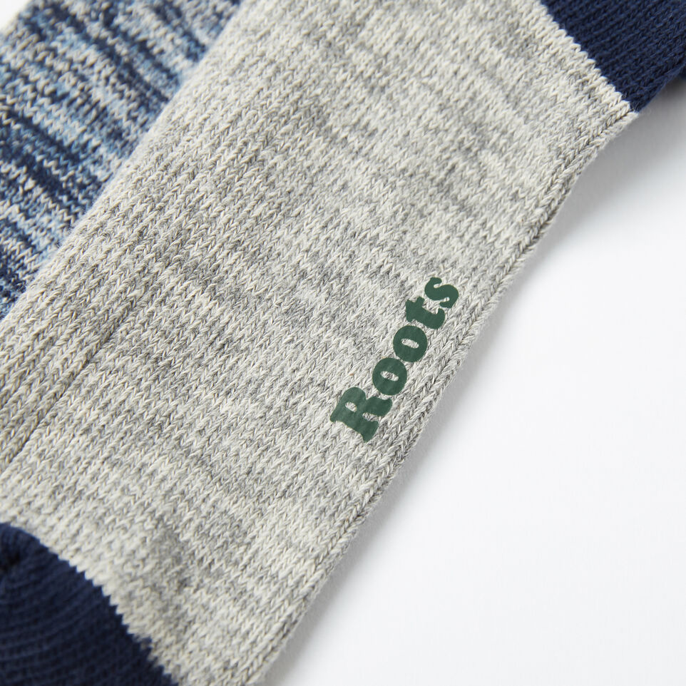 Roots-undefined-Mens Cotton Cabin Sock 2 Pack-undefined-D