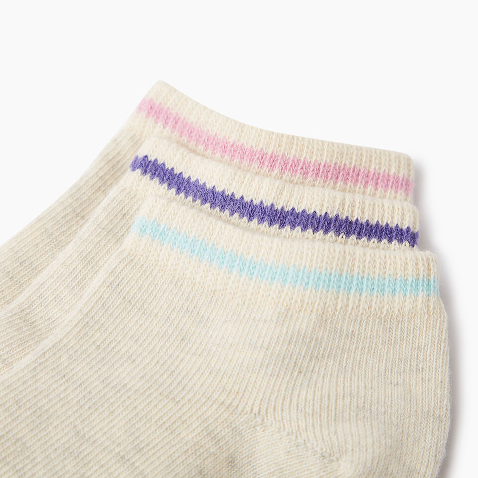 Roots-undefined-Kids Cabin Ped Sock 3 Pack-undefined-D