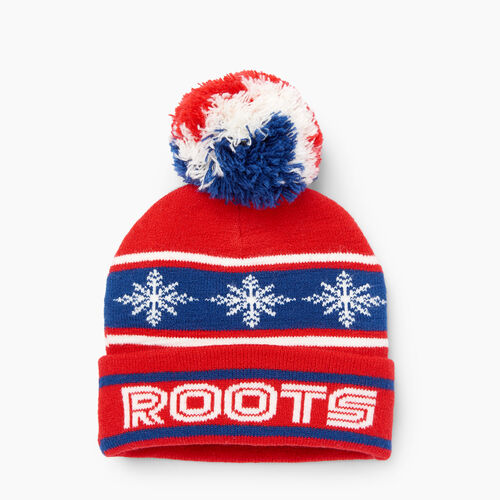 Roots-Winter Sale Kids-Toddler Retro Fair Isle Toque-Racing Red-A