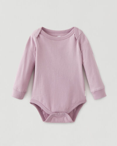 Roots-Kids Baby-Roots Baby's First Bodysuit-Nimbus-A