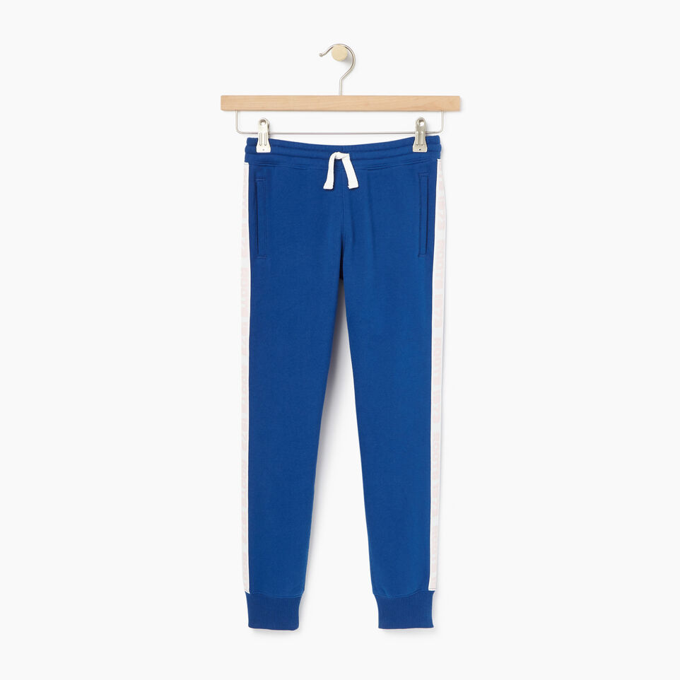 Roots-Clearance Kids-Girls Sportsmas Sweatpant-Active Blue-A