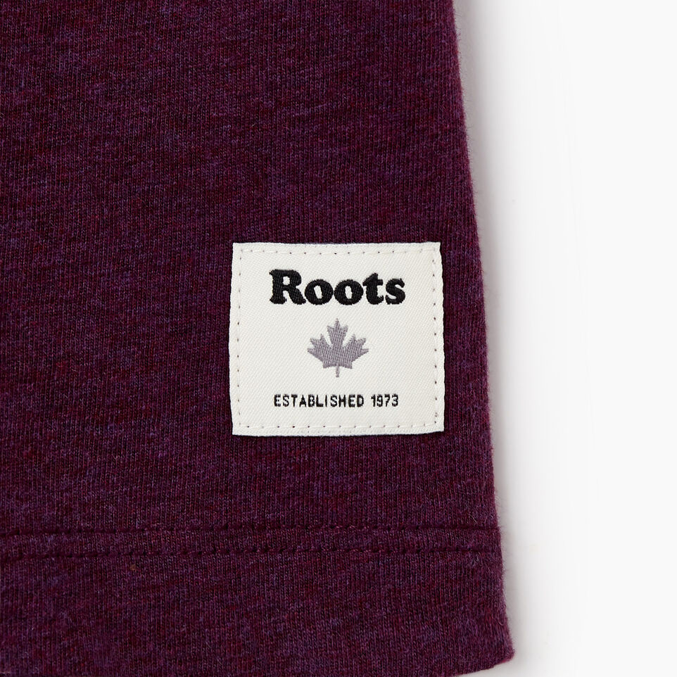 Roots-Women Clothing-Womens Classic Roots Canada T-shirt-Pickled Beet Mix-C