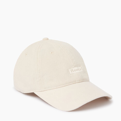 Roots-Women Accessories-Annapolis Baseball Cap-Natural-A