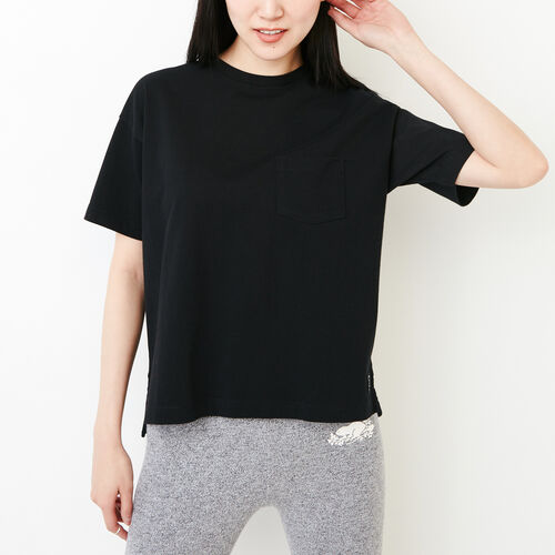 Roots-Women Our Favourite New Arrivals-Fraser Pocket Top-Black-A