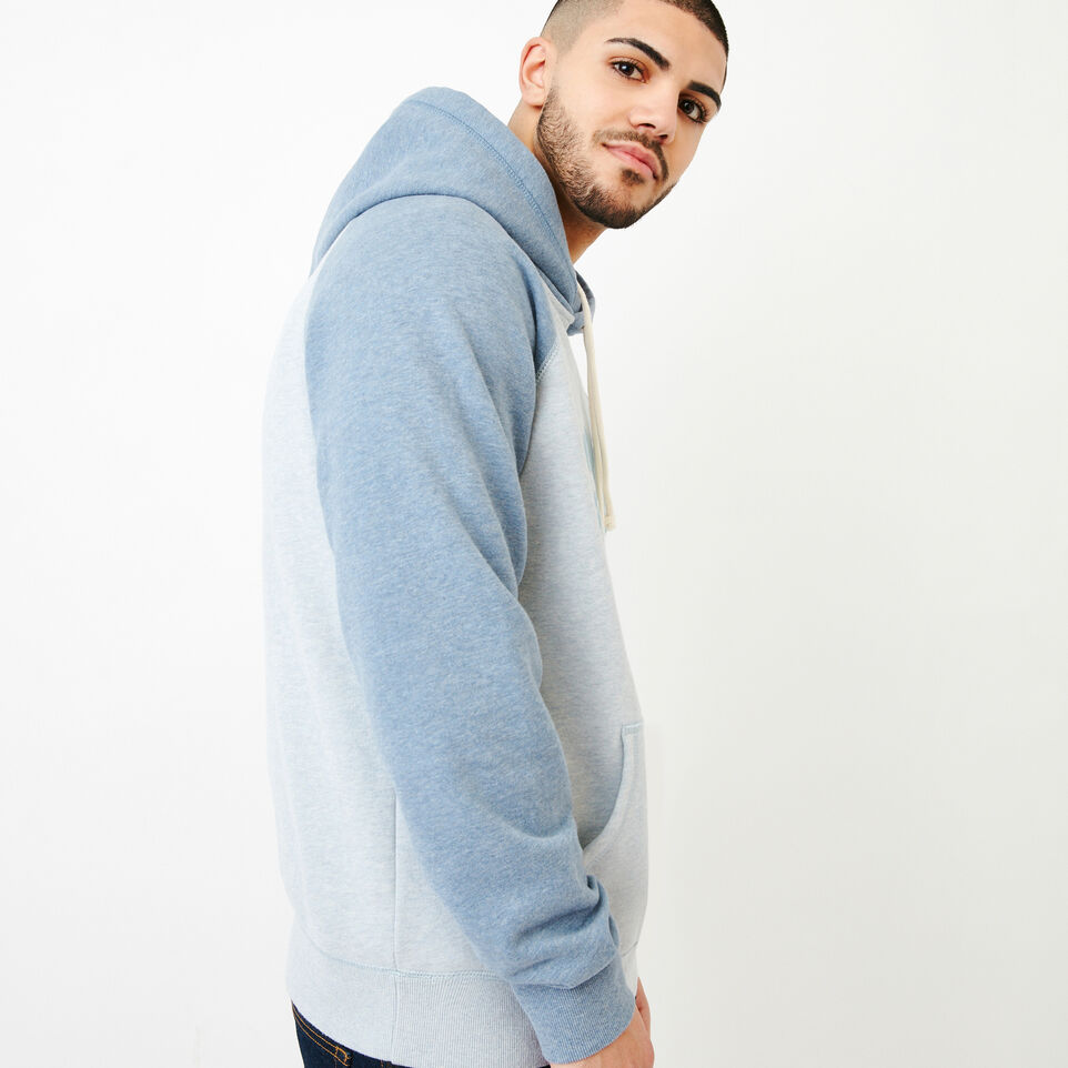 Roots-Men Our Favourite New Arrivals-Cooper Kanga Hoody-Celestial Blue Mix-C