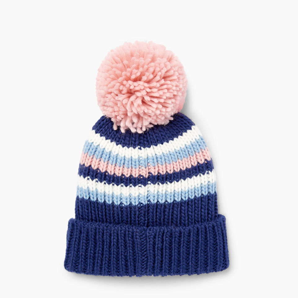 Roots-Kids Our Favourite New Arrivals-Kids Kananaskis Pom Pom Toque-Blue Depths-C