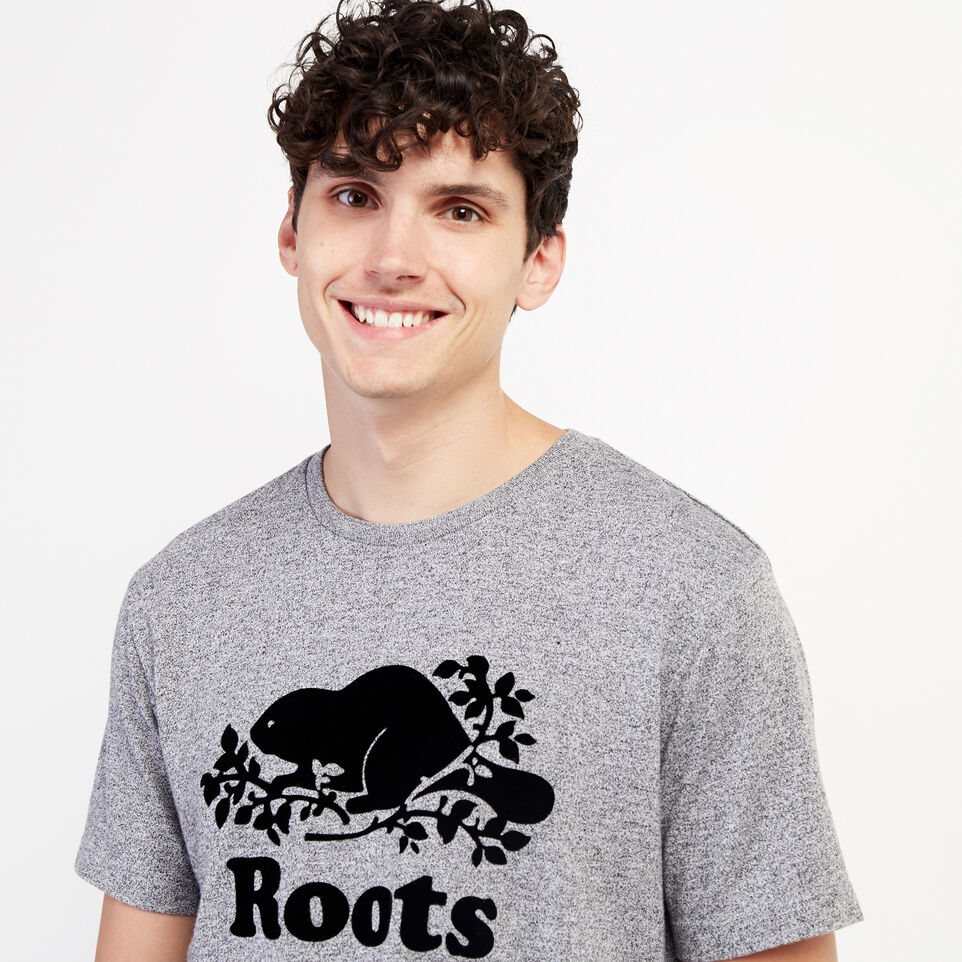 Roots-undefined-Mens Original Cooper Beaver T-shirt-undefined-E