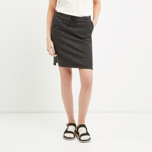 Roots-Women Bottoms-Mabel Lake Skirt-Black Pepper-A