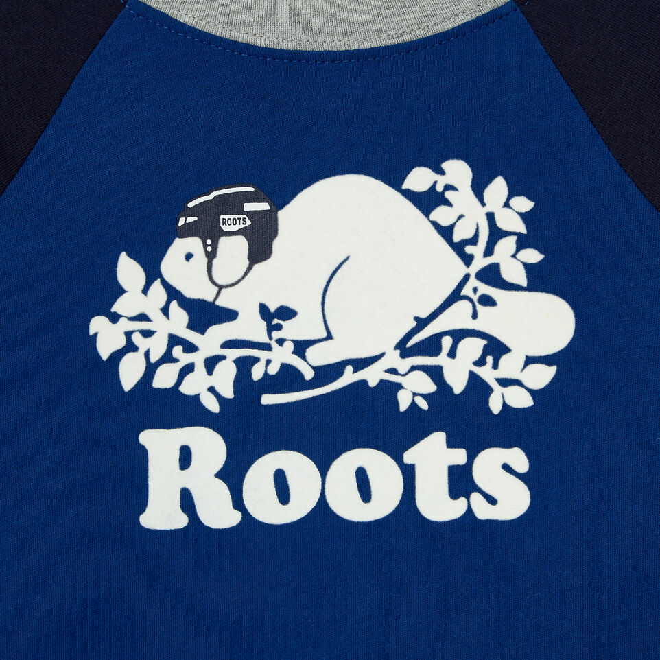 Roots-undefined-Baby Hockey Buddy Raglan T-shirt-undefined-D