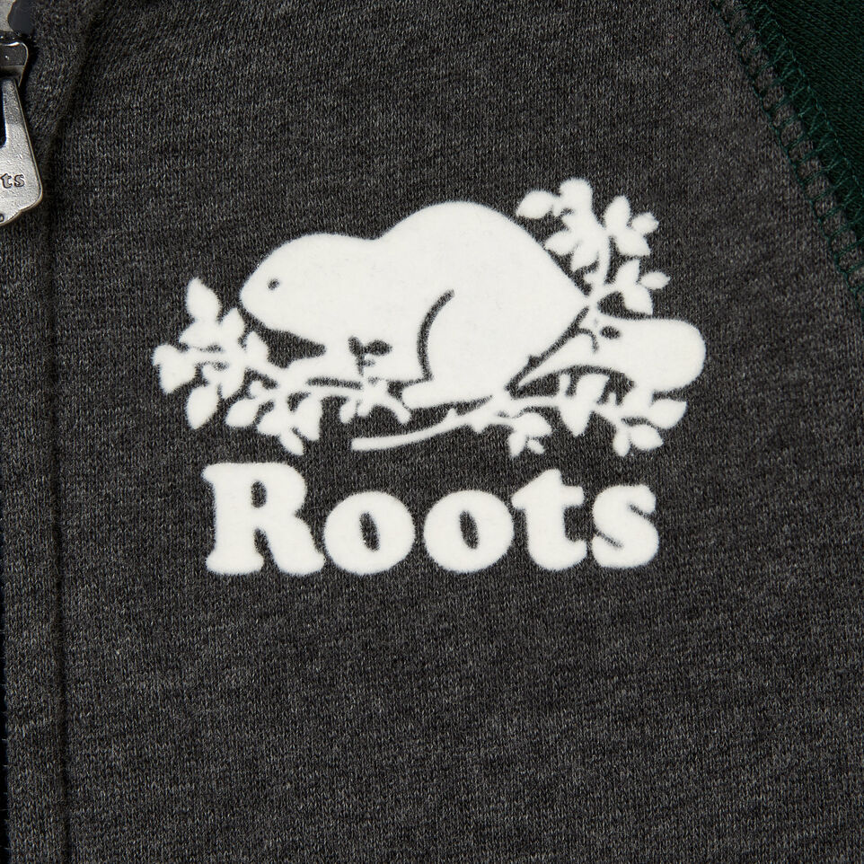 Roots-Kids Our Favourite New Arrivals-Toddler Original Full Zip Hoody-Varsity Green-C
