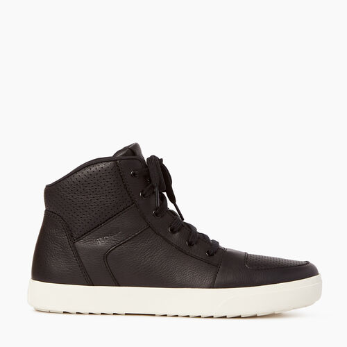Roots-Footwear Men-Mens Ossington Hightop-Abyss-A