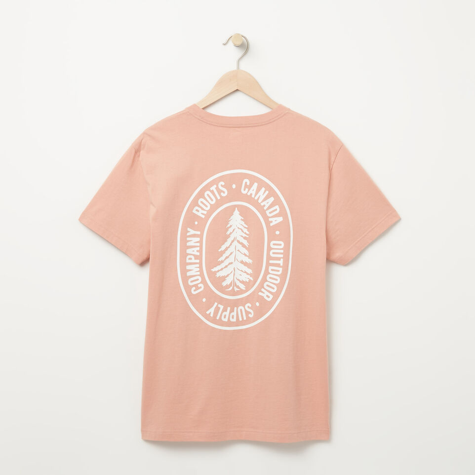Roots-undefined-Mens Roots Organic Earth T-shirt-undefined-B
