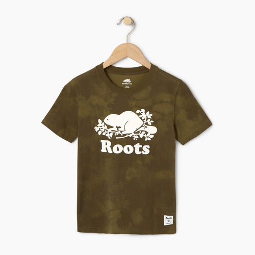 Roots-Kids Our Favourite New Arrivals-Boys Cloud Nine T-shirt-Winter Moss Green-A
