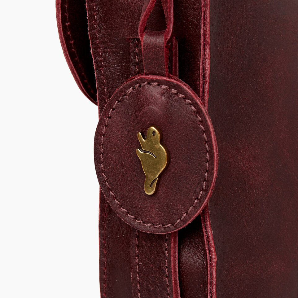 Roots-Leather  Handcrafted By Us Our Favourite New Arrivals-Lambert Bag-Crimson-E