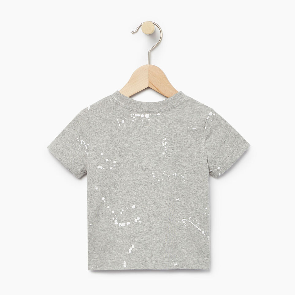Roots-Kids Our Favourite New Arrivals-Baby Splatter Aop T-shirt-Grey Mix-B